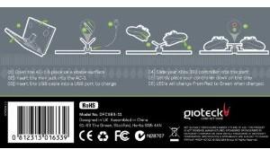 Gioteck AC-1 Dualfuel Ammo Clip (kompakte Ladestation) - zum Schließen ins Bild klicken