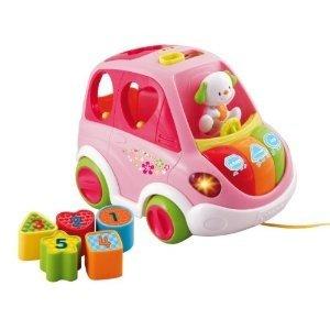 VTech Baby 80-70154 - 1,2,3 Sortierauto, rosa
