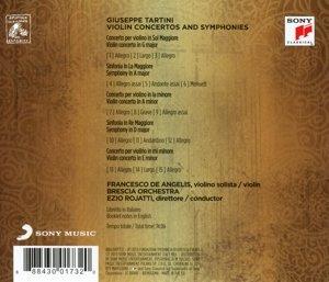 Violin Concertos and Symphonies