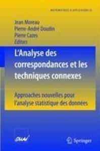 L'Analyse des correspondances et les techniques connexes