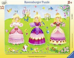 Ravensburger 06063 - Schöne Prinzessinnenkleider, Puzzle, 15 Tei