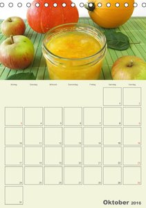 Frisch und fruchtig - Gelees und Konfitüren (Tischkalender 2016