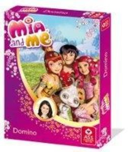 ASS Altenburger 22577402 - Mia and me, Domino, Kartenspiel