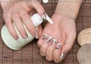 Transient Art - Nail Art Episode 1 (Wall Calendar 2015 DIN A4 La