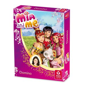ASS Altenburger 22577402 - Mia and me, Domino, Kartenspiel