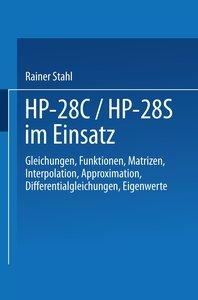 HP-28C / HP-28S im Einsatz