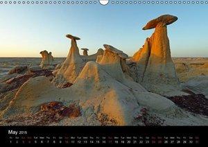 Stones & Rocks (UK-Edition) (Wall Calendar 2015 DIN A3 Landscape