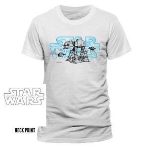 Logo Steel Walker (T-Shirt,Weiß,Größe M)