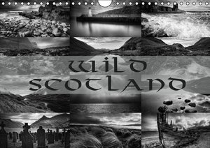 Wild Scotland / UK-Version (Wall Calendar 2015 DIN A4 Landscape)