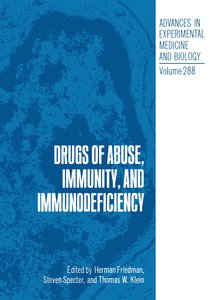 Drugs of Abuse, Immunity, and Immunodeficiency