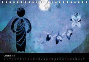 Blue Moments (Table Calendar 2015 DIN A5 Landscape)