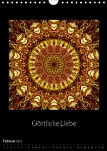 Mandalas - Spiegel der Seele (Wandkalender 2016 DIN A4 hoch)