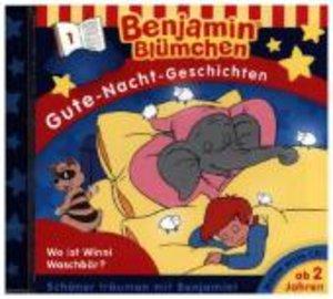 Benjamin Blümchen. Gute-Nacht-Geschichten 01. CD