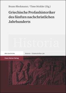 Griechische Profanhistoriker des fünften nachchristlichen Jahrhu