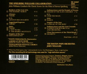 The Spielberg/Williams Collab.: Classic Scores