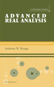 Advanced Real Analysis