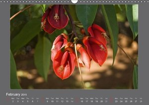Flowers of Madeira - UK Version (Wall Calendar 2015 DIN A3 Lands