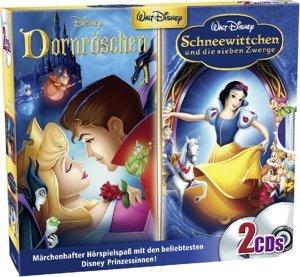 Schneewittchen+Dornröschen 2er CD-Box