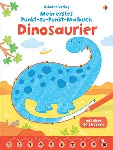 Mein erstes Punkt-zu-Punkt-Malbuch: Dinosaurier