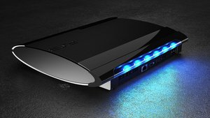 Gioteck LUME N-8R Luminate Light Bar (PS3 Super Slim)