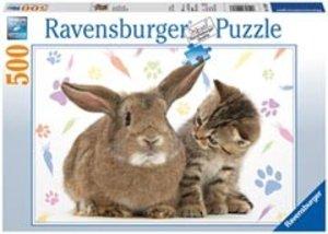 Ravensburger 14180 - Zwei Freunde, 500 Teile Puzzle