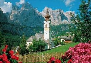 Jumbo 17039 - Kolfuschg, Dolomiten, Puzzle, 2000 Teile