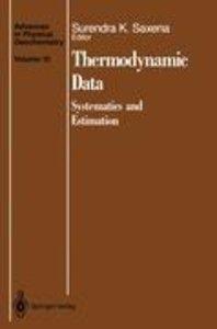 Thermodynamic Data