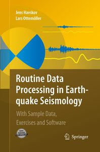 Routine Data Processing in Earthquake Seismology