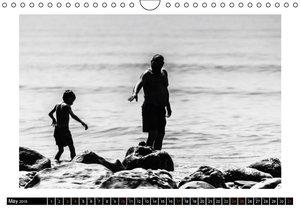 Costa del Sol Impressions in B & W (Wall Calendar 2015 DIN A4 La