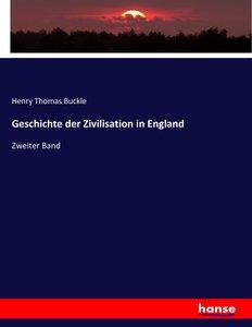 Geschichte der Zivilisation in England