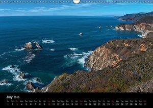 California Coasline (Wall Calendar 2016 DIN A3 Landscape)