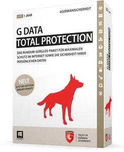G Data Total Protection 2015 - Schutz für 1 Jahr/3 PCs