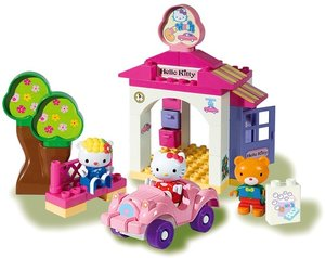 BIG 800057028 - PlayBIG BLOXX HELLO KITTY WERKSTATT