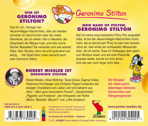 Geronimo Stilton: Mein Name Ist Stilton,Geronimo S