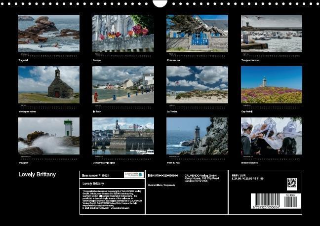 Lovely Brittany (Wall Calendar 2015 DIN A3 Landscape) - zum Schließen ins Bild klicken