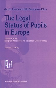 The Legal Status of Pupils in Europe