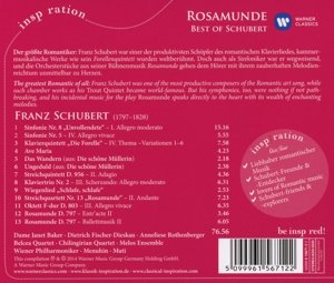 Rosamunde:Best Of Schubert