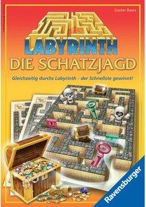 Ravensburger 26365 - Labyrinth: Die Schatzjagd