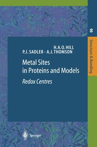 Metal Sites in Proteins and Models. Redox Centres