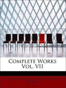 Complete Works Vol. VII