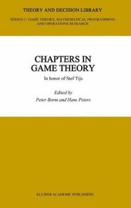 Chapters in Game Theory