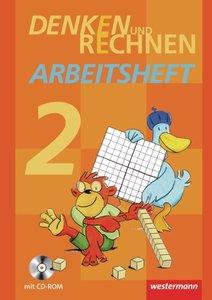 Denken und Rechnen 2. Arbeitsheft mit CD-ROM. Grundschule. Hambu