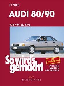 So wird's gemacht, Audi 80/90 von 9/86 bis 8/91