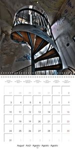 Stairs in Germany (Wall Calendar 2015 300 × 300 mm Square)