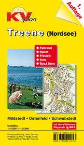 Treene (Nordsee) 1 : 10 000