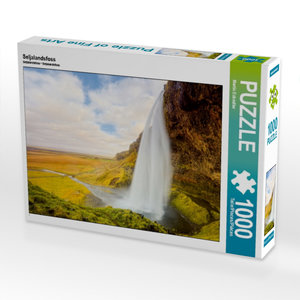 Seljalandsfoss 1000 Teile Puzzle quer