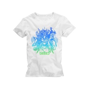 New Basstard T-Shirt M Girlie White