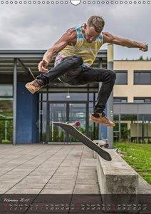 Skateboard - Street (Wall Calendar 2015 DIN A3 Portrait)