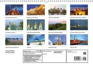 Goldenes Russland (Wandkalender 2017 DIN A3 quer)