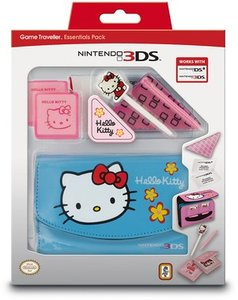 Essential Hello Kitty Zubehörpack blau 3DS + DSi (3DS)